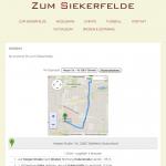 iPad - Routenplanung