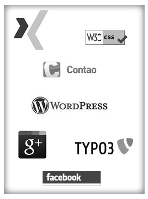 CMS, Social-Media, Webdesign