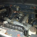 Motor nach Einbau