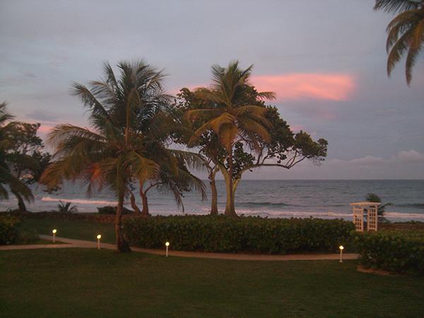 Tobago - Blick von der Terrasse